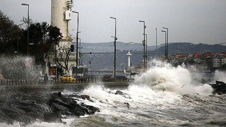 Meteoroloji'den İstanbul hava durumu uyarısı! Yarına dikkat