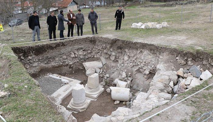 Karabük'te bin 500 yıllık kilise ortaya çıkarıldı