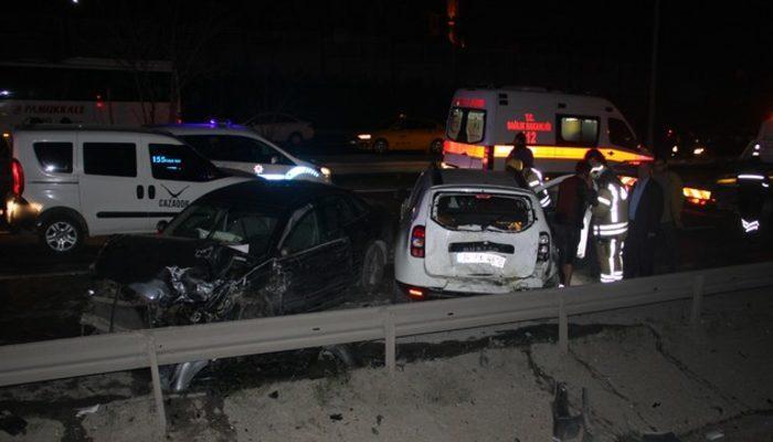 İstanbul'da zincirleme kaza: 10 araç birbirine girdi