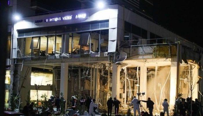 Ankara'da, vergi dairesindeki patlamaya ilişkin detaylar ortaya çıktı