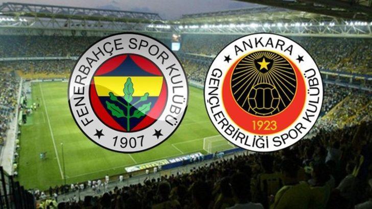 Fenerbahçe - Gençlerbirliği maçı ne zaman, saat kaçta, hangi kanalda? (FB - Gençlerbirliği maçı canlı izle)