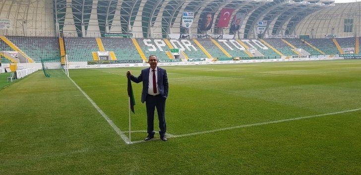 MESOB Başkanı Geriter Akhisar Stadını çok beğendi