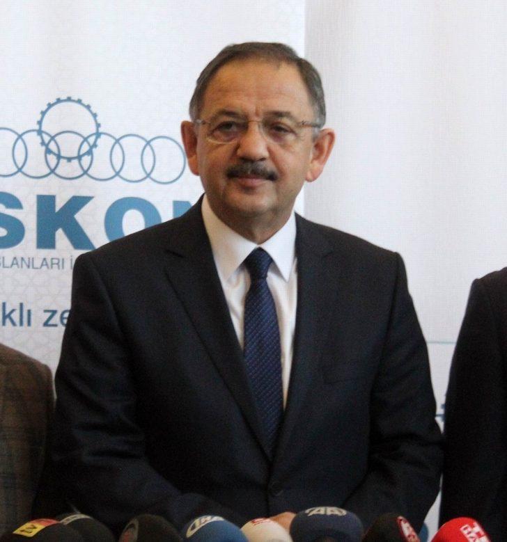 """Bakan Özhaseki: """"Devlet destekli ne gerekiyorsa yaparız"""""""