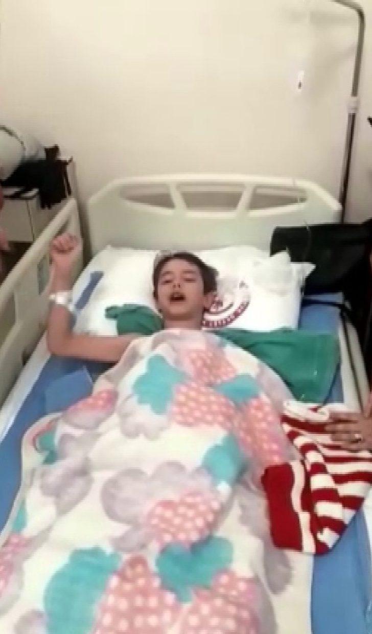 (Özel haber) Narkozun etkisiyle Fenerbahçe marşı söyleyen çocuk hastaneyi başına topladı
