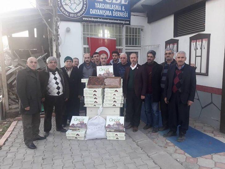 Afrin'e Malatya'dan kayısı