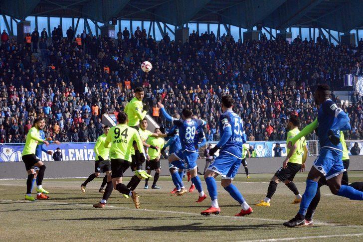 Büyükşehir Belediye Erzurumspor: 1 - Çaykur Rizespor: 1