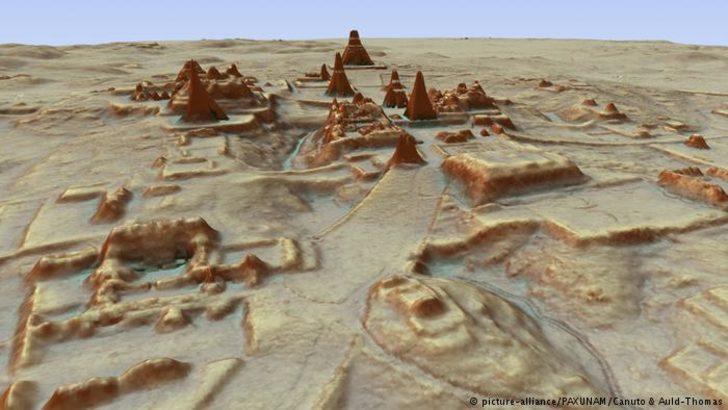 Guatemala'da ormanın altında Maya kenti bulundu