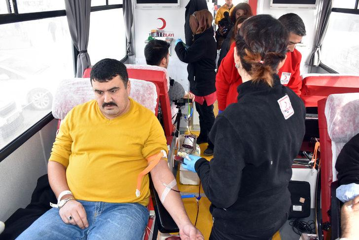 Sivas'ta Zeytin Dalı Harekâtı'na destek için kan bağışı