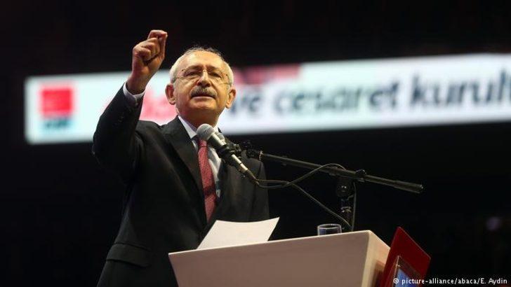 CHP genel başkanını seçti