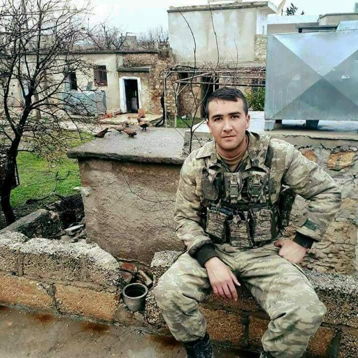 Giresunlu uzman çavuş Afrin'de şehit oldu (2)