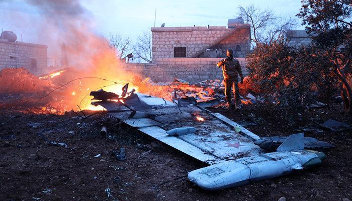 İdlib'de, Rus uçağına düzenlenen saldırıyı Fetih el Şam üstlendi