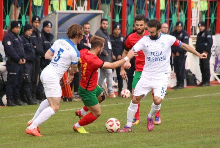 Amed Sportif, Tuzlaspor ile golsüz berabere kaldı