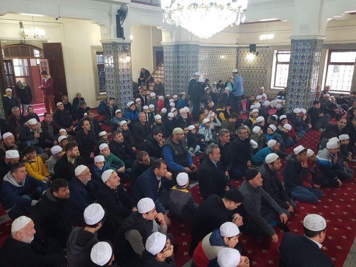 'Haydi Çocuklar Camiye' projesinde çocuklar camiye alıştırıldı