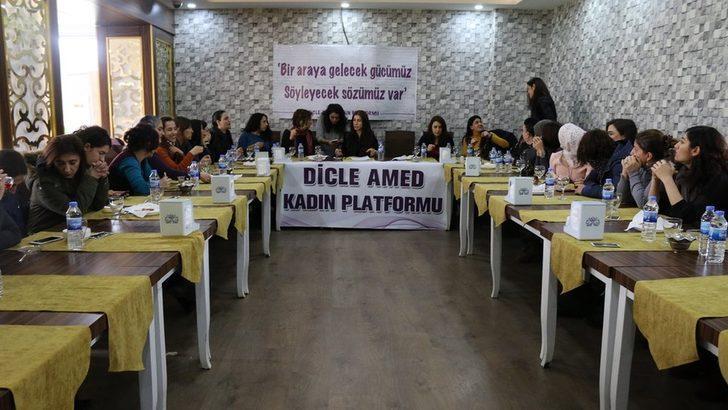 Diyarbakır'da Dicle Amed Kadın Platformu kuruldu