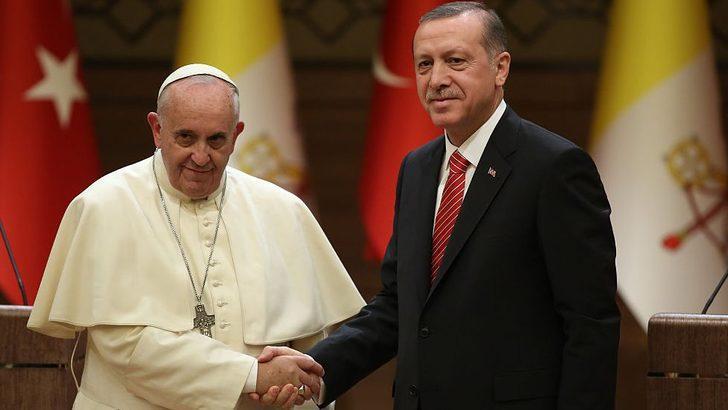Erdoğan'ın tarihi Vatikan ziyareti başlıyor
