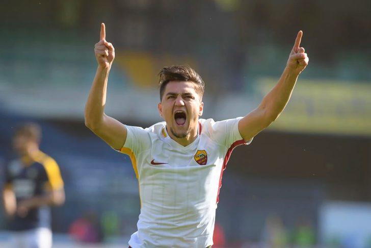 """Roma'yı sırtlayan Cengiz Ünder: """"İlk golü uzun süre hayal ettim"""""""