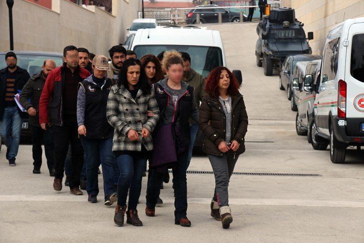 Elazığ'da DHKP-C operasyonu: 7 şüpheli adliyeye sevk edildi