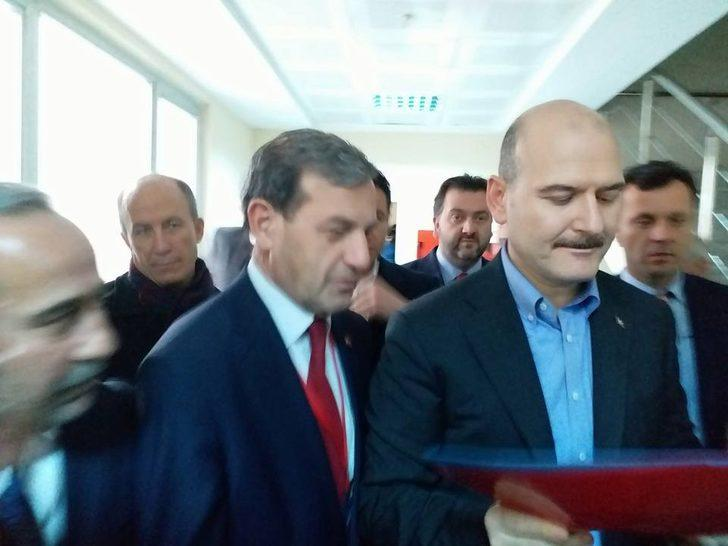 Başkan Özkan ; Proje dosyamızı Bakan Soylu'ya sunduk