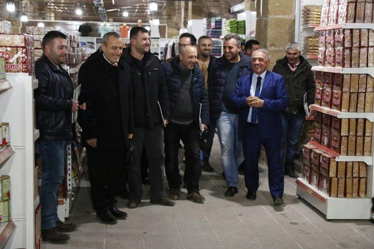 Niğde Belediye Başkanı Rifat Özkan Esnafla Buluştu