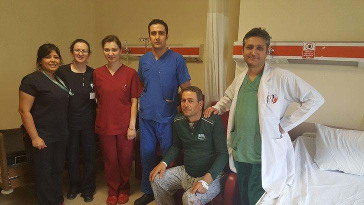 Ezine Devlet Hastanesi'nde bir ilk