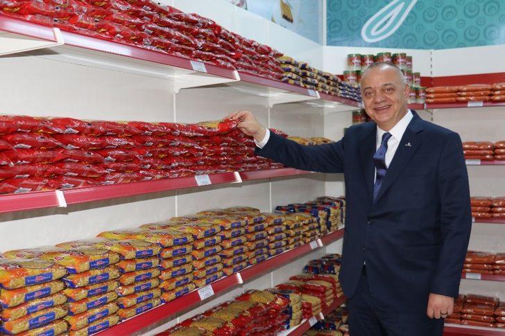 Alaşehir'de 493 aile Gıda Bankasından faydalanıyor