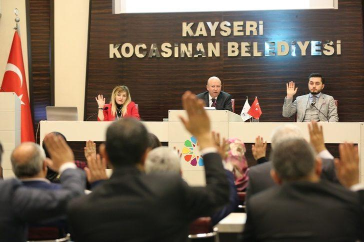 """Kocasinan Belediye Başkanı Çolakbayrakdar: """"Dualarımız, kalbimiz askerlerimizle"""""""
