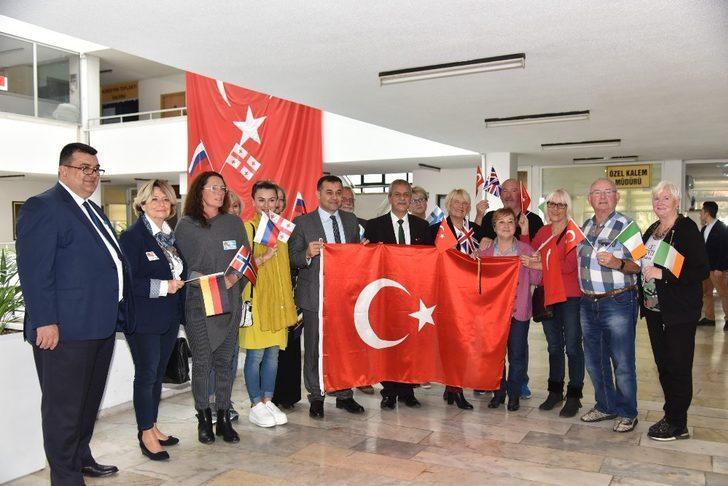 Alanya Yabancılar meclisinden Afrin desteği
