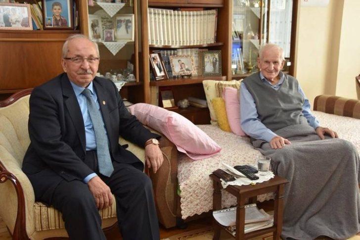 Albayrak, Mehmet Serez ve muhtarlar ile bir araya geldi