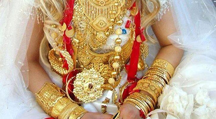 Yargıtay: Düğünde takılan altınlar gelinin malı