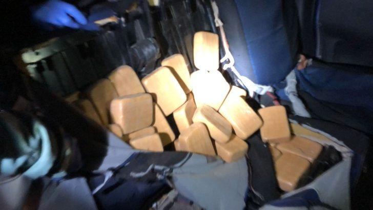 Van'da 29 kilo 601 gram eroin ele geçirildi