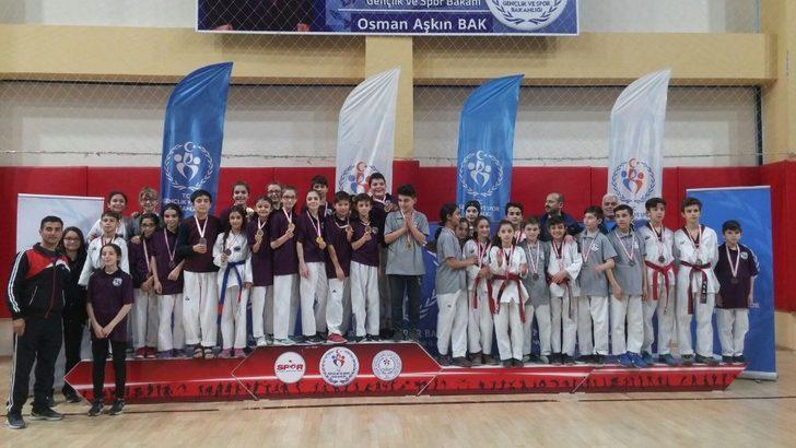 Taekwondo il birinciliği yapıldı