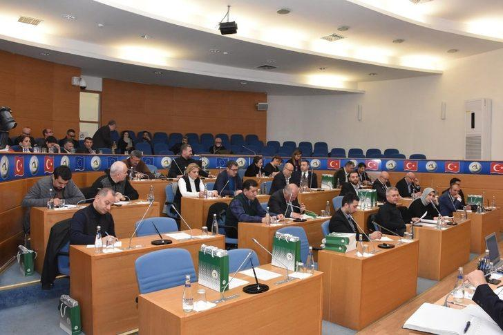 Belediye meclis gündemi komisyonda yeniden değerlendirilecek