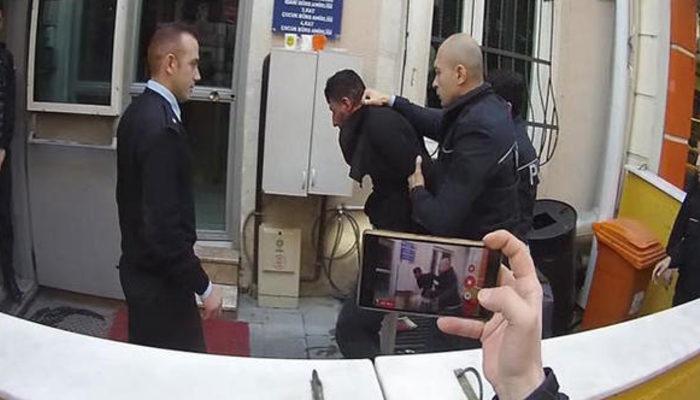 Yakalanan şüpheli polisin burnunu kırdı!