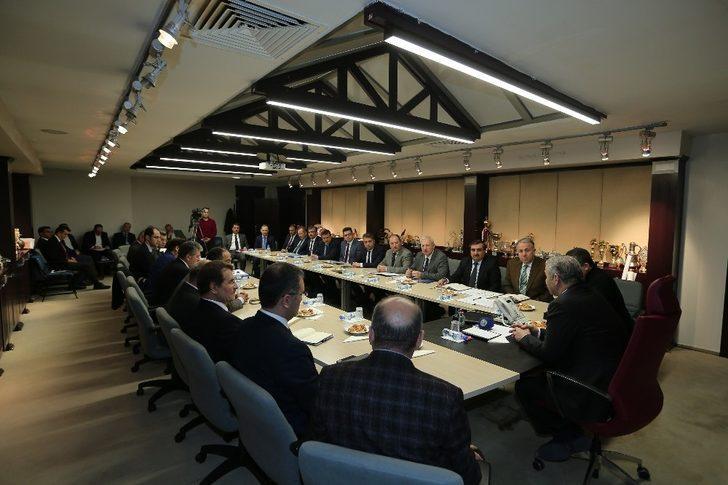 Büyükşehir'de 2018 yatırımları planlanıyor