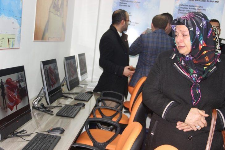 Şanlıurfa'da Şehit Polis Memuru Hasan Hüseyin Çalışkan kütüphanesi açıldı