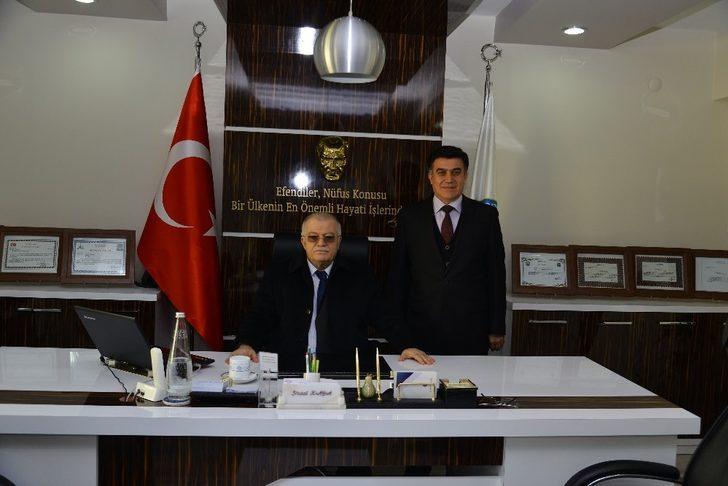 Vali Şentürk, İl Nüfus ve Vatandaşlık Müdürlüğünü ziyaret etti