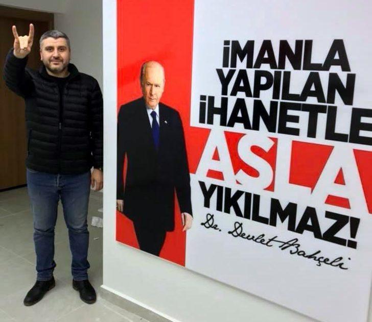 MHP'li başkandan eski Ak Partili vekile 'bozkurt' tepkisi