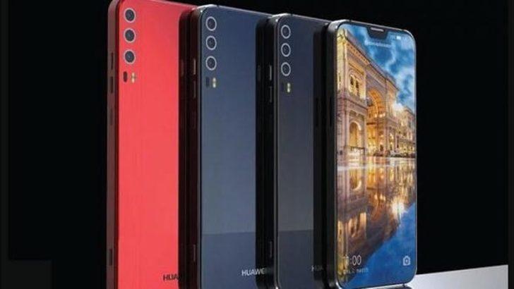 Çinlilerin yeni gözdesi Huawei P20'den ilk görüntüler