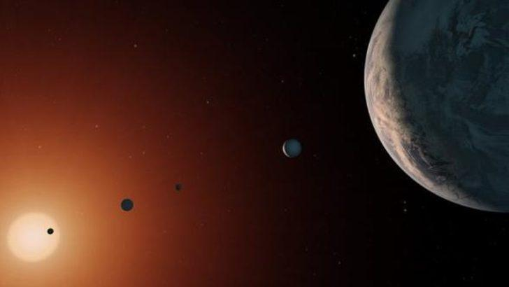 TRAPPIST-1 gezegenlerinin bazılarında bol miktarda su olabilir