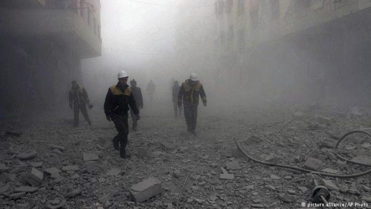 Suriye ve Rusya hava saldırılarını yoğunlaştırdı