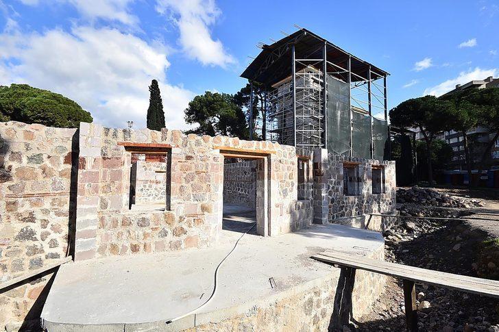 159 yıllık Paterson Köşkü'nün restorasyonu hızlandı
