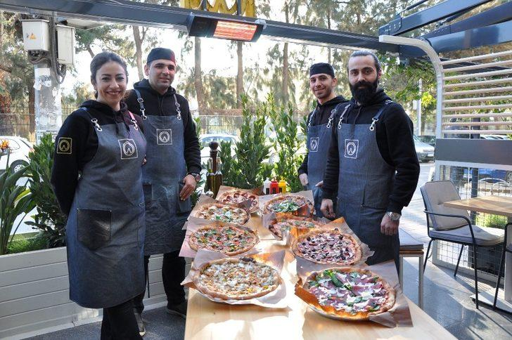 İzmir'de ekşi maya pizza