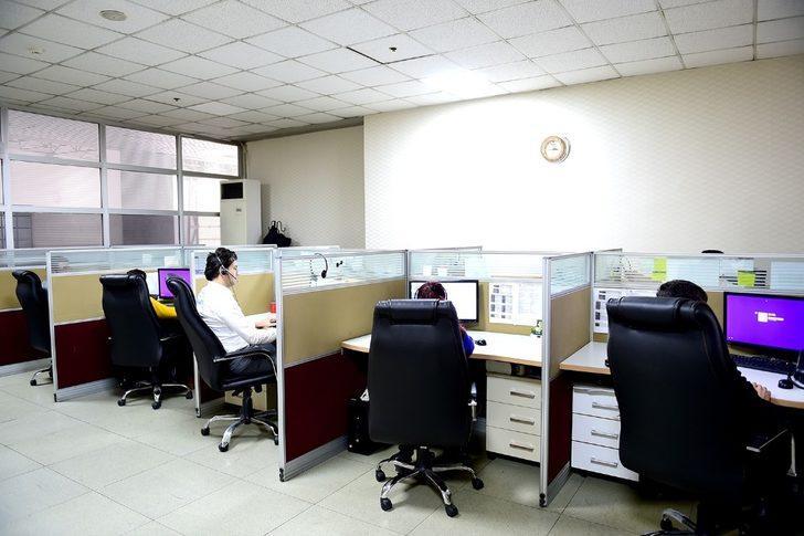 Büyükşehir Çağrı Merkezine 2017'de 153 bin başvuru yapıldı