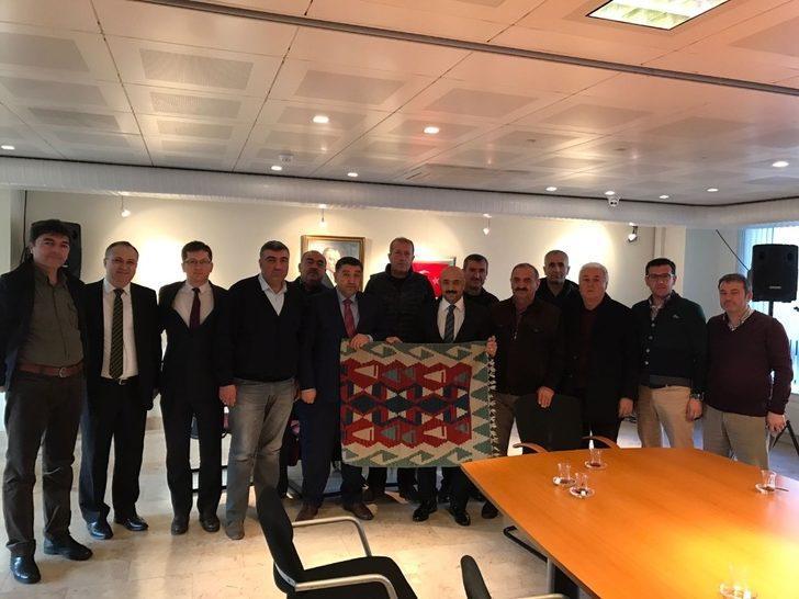 UR-GE Projesi kapsamında TSO ve Ticaret Borsası üyeleri Hollanda'da
