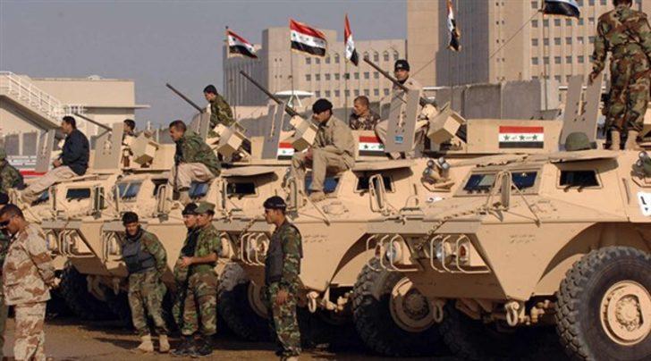 Son dakika!Irak Kerkük yakınlarında askeri harekât başlattı