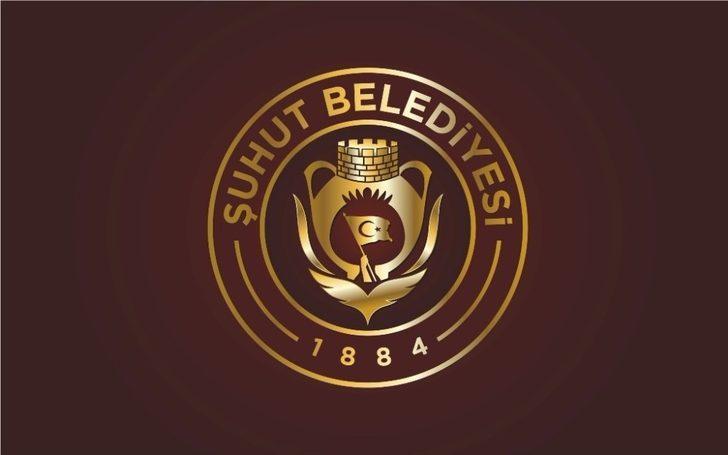 Şuhut Belediyesi'nin logosu değişti