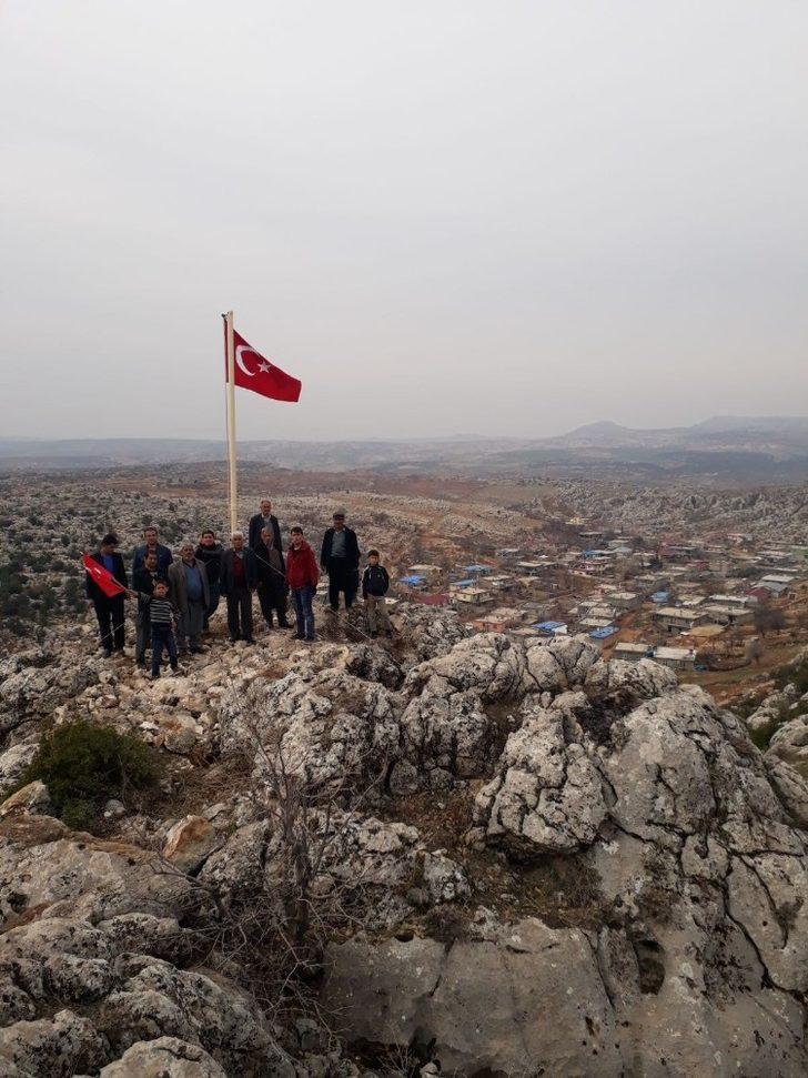 Köylülerden Afrin harekatına destek