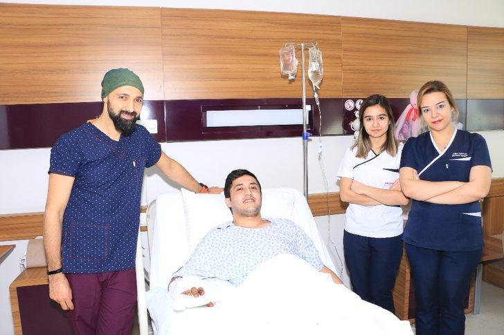 Gaziantep'te mikro cerrahi başarısı