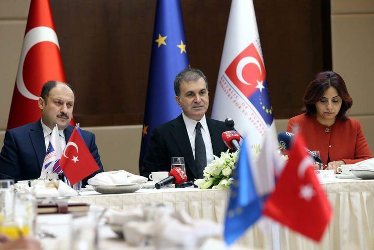 AB Bakanı Çelik: Türkiye tabi ki BM'nin terör örgütü olarak kabul ettiği örgütler ile mücadele ediyor (2)