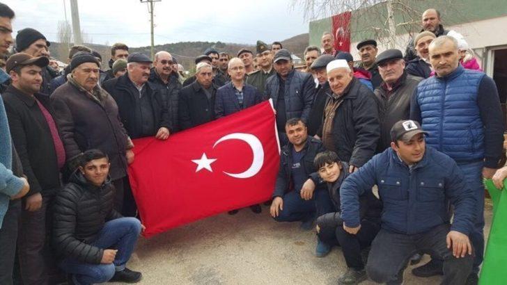 Ahıska Türkleri Mehmetçiklerimiz için mevlit okutup dua ettiler